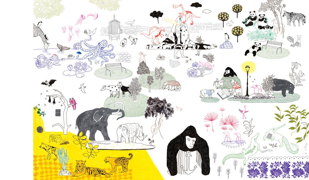 Audrey calleja au jardin zoologique for Jardin zoologique